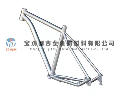钛自行车架